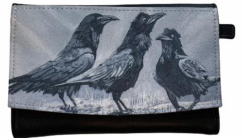 Crows Wallet - Karen Savage Blue