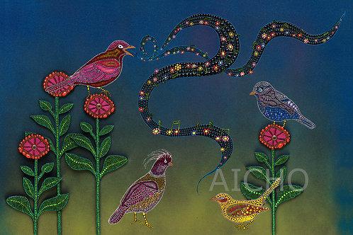 Bird Song - Leah Yellowbird