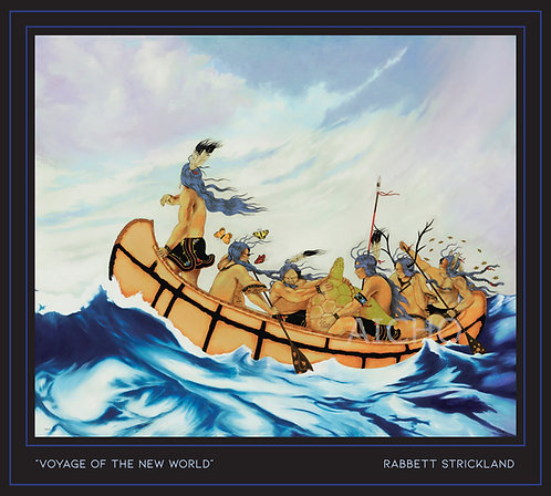 Voyage to the New World - Paper Print