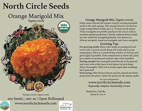 Orange Marigold Mix