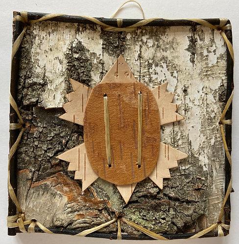Turtle Birch Bark Design