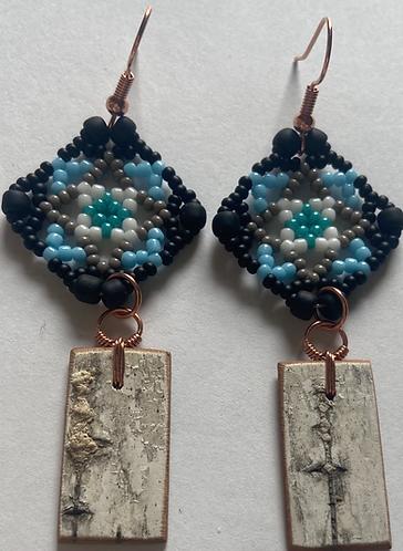 Birchbark Earrings 22