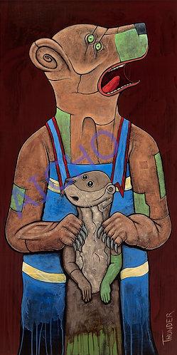 Bear and Otter - Jonathan Thunder