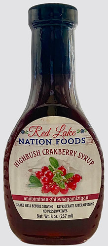 Highbush Cranberry Syrup