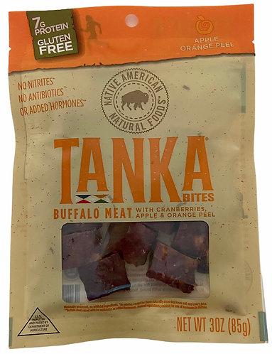 Tanka Bites Buffalo Meat Cranberries, Apple, Orange Peel