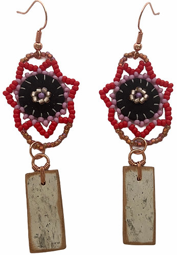 Birchbark Earrings 31