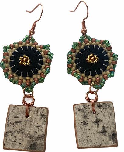 Birchbark Earrings 21