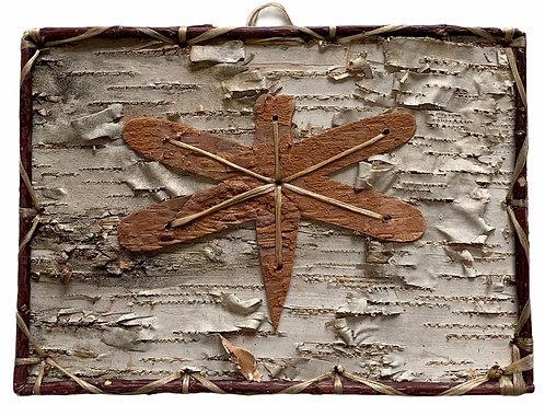 Dragonfly Birchbark Painting