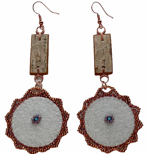 Birchbark Earrings 2