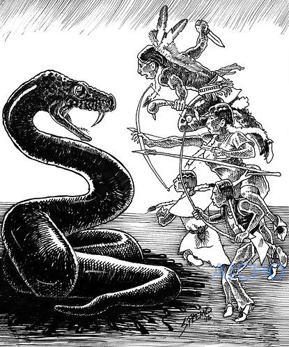 Snake Battle - Steve Premo