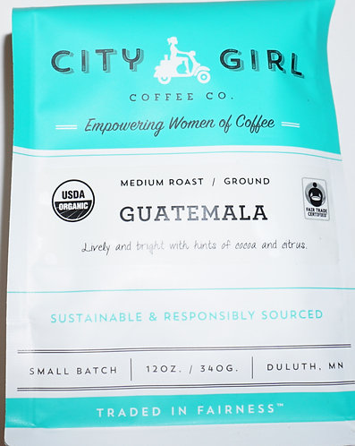 Medium Rost City Girl Coffee Guatemala