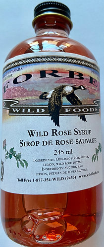Wild Rose Syrup