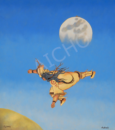 Nokomis Thrown from the Moon - Rabbett Strickland