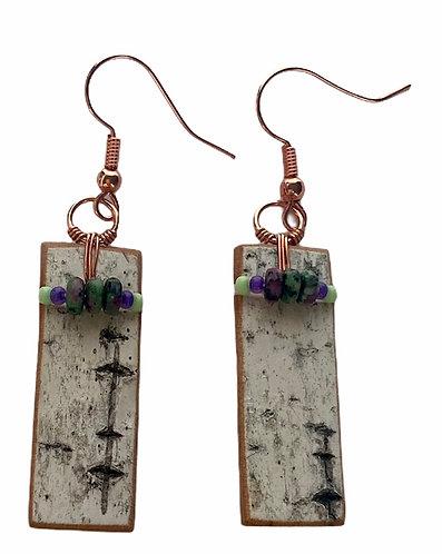 Birchbark Earrings 4