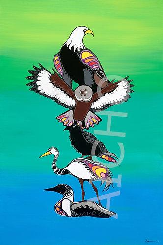 Birds Clan-Totem