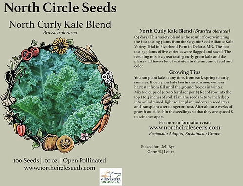 North Curly Kale Blend