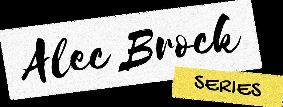 Alec Brock Series Logo
