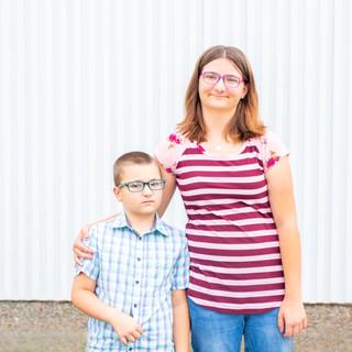 Hailey and Mason