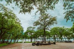 Courtyard / Gazebo / Lake View