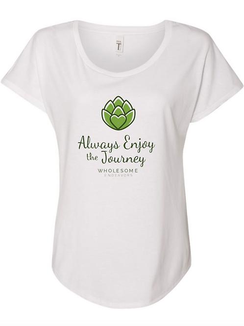 Always Enjoy the Journey Women'sTee