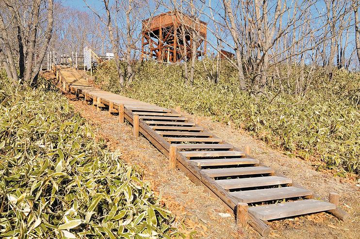 北斗遺跡展望台と木道255.jpg