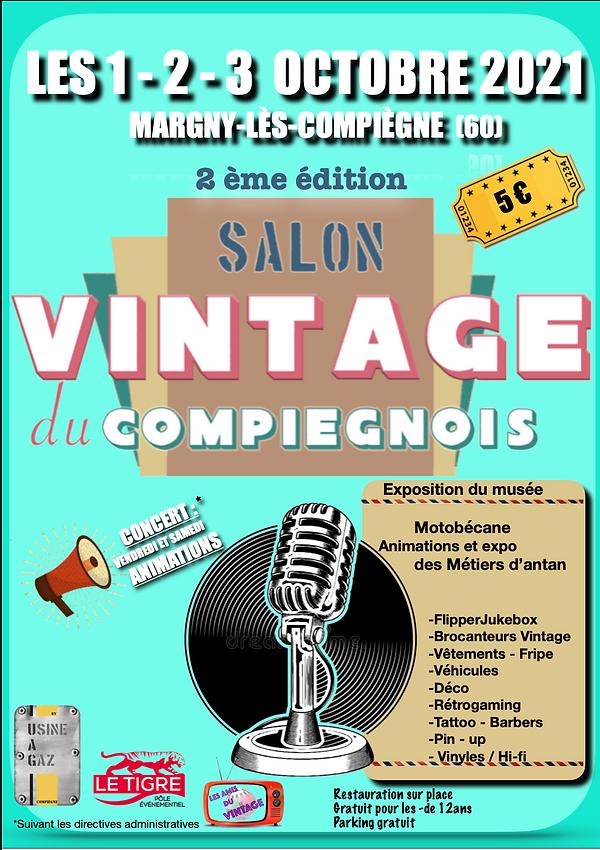Salon Vintage du Compiègnois