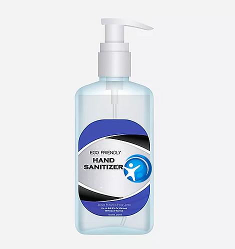 16 fl oz Hand Sanitizer (Lemon & Lime + Vitamin E & ALOE) with Pump