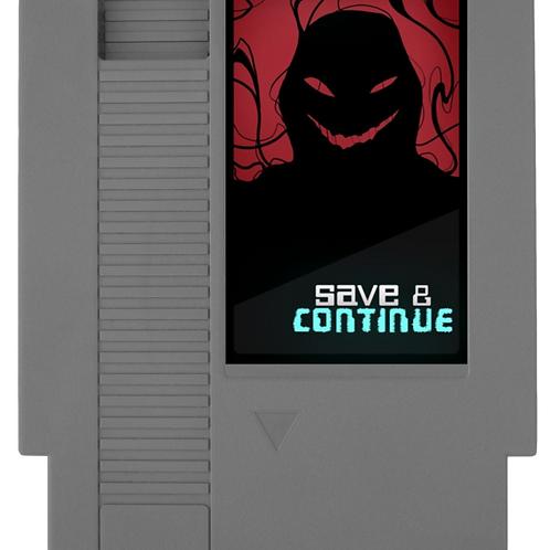 Save & Continue Replica Retro Cartridge