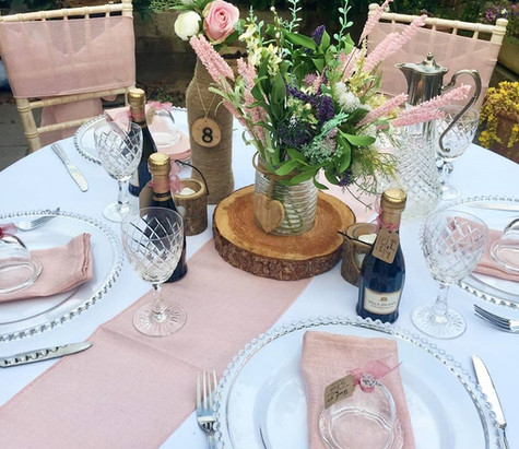 Clear Vintage Cut Glass Hire | Chocolate Falls