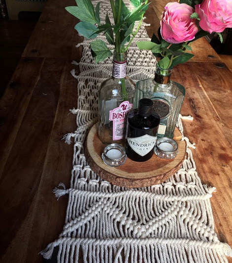 Macrame Table Runner Event   Chocolate Falls