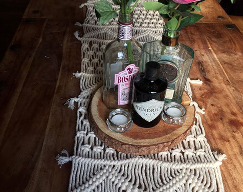 Boho Table Runner for hire   Chocolate Falls