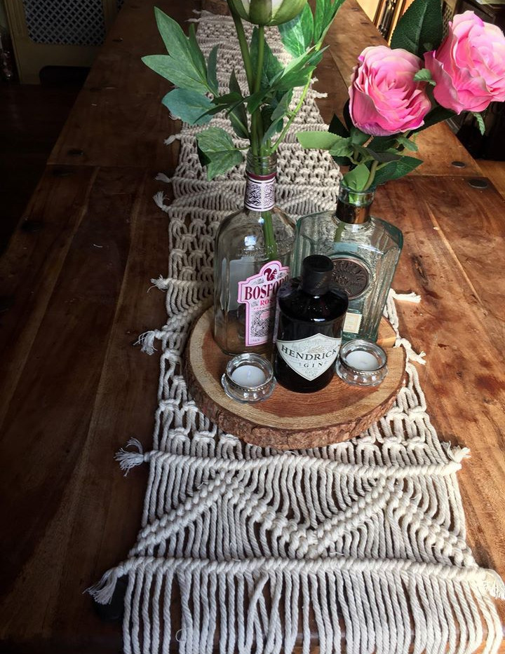 Boho Table Runner for hire | Chocolate Falls