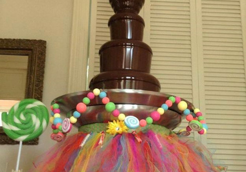 Kids Party Chocolate Fountain   Chocolate Falls