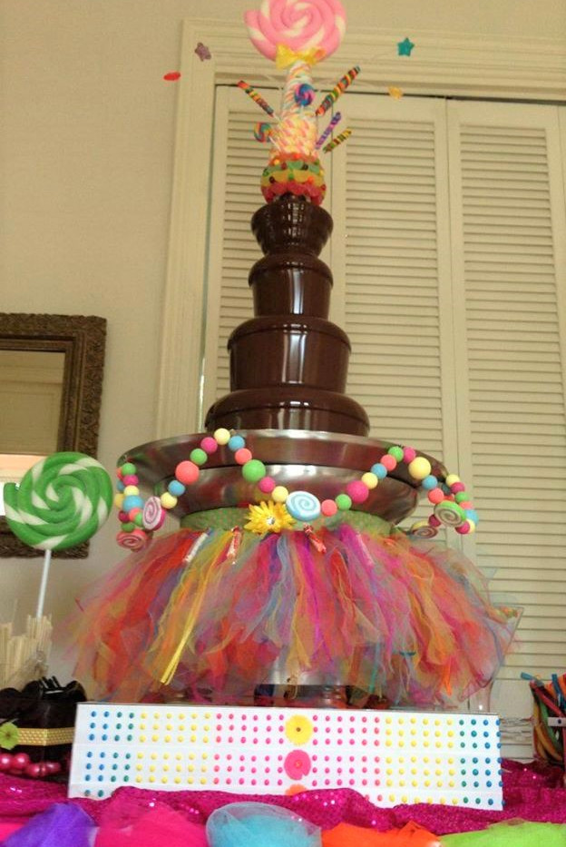 Kids Party Chocolate Fountain | Chocolate Falls