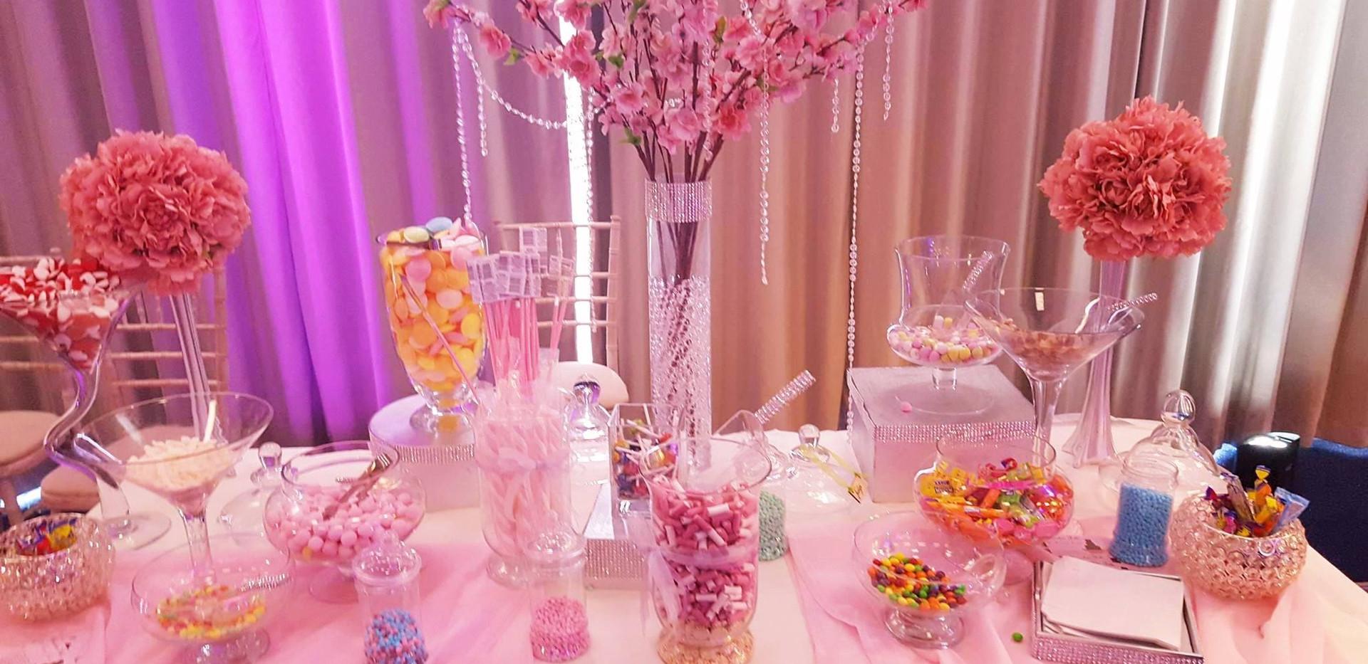 Glam and Glitz Candy Bar | Chocolate Falls