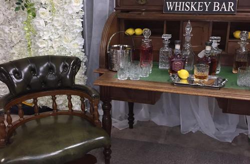 Whiskey Bar Desk   Chocolate Falls