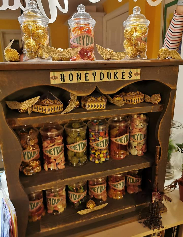 Harry Potter Sweet Display Hire | Chocolate Falls