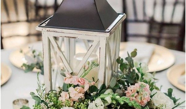Rustic Lantern Centrepiece Event Hire | Chocolate Falls