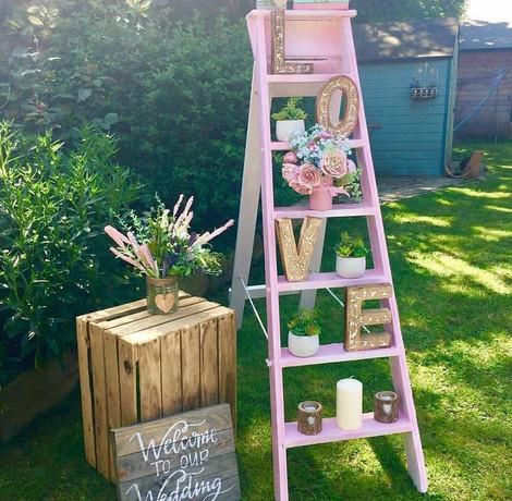 Ladder Display | Chocolate Falls