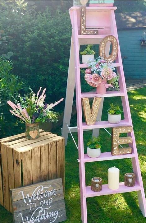 Pink Decor Display | Chocolate Falls