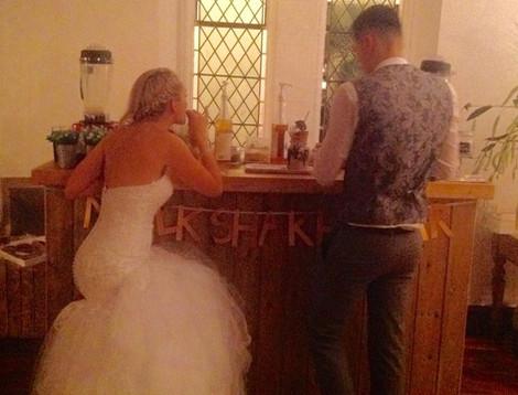 Wedding Couple Freakshake Bar | Chocolate Falls