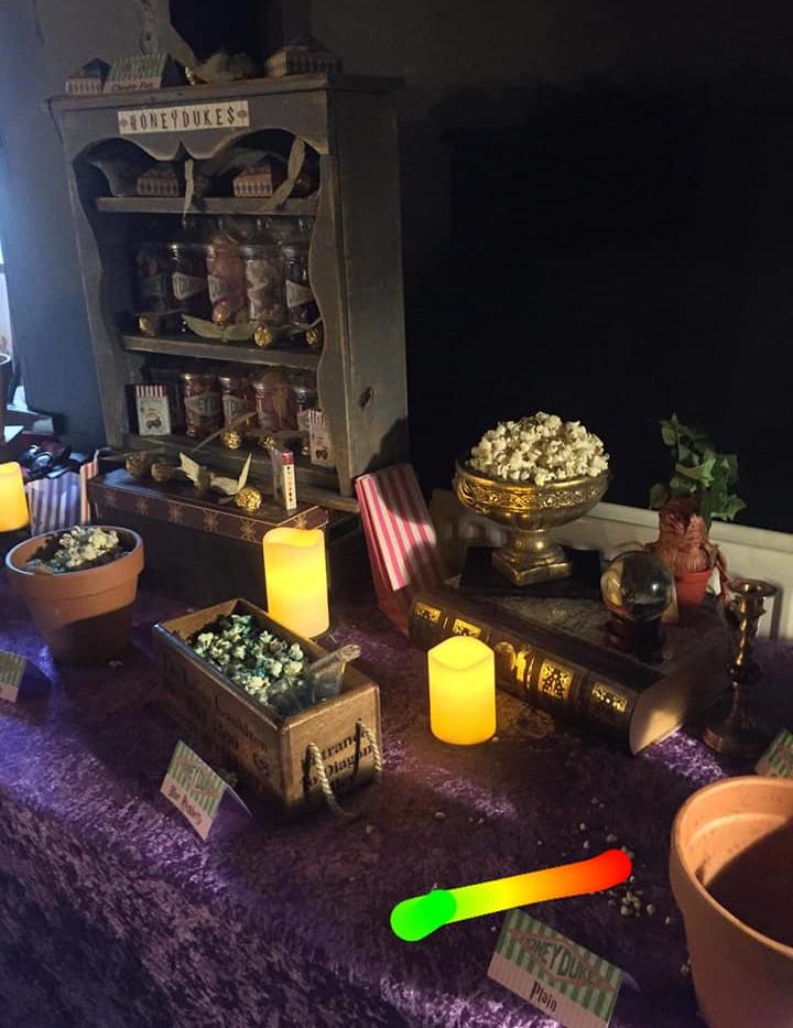 Harry Potter Popcorn Party | Chocolate Falls