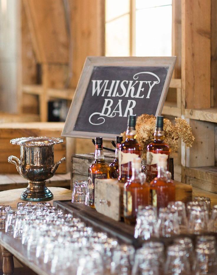 Whiskey Bar Close up | Chocolate Falls