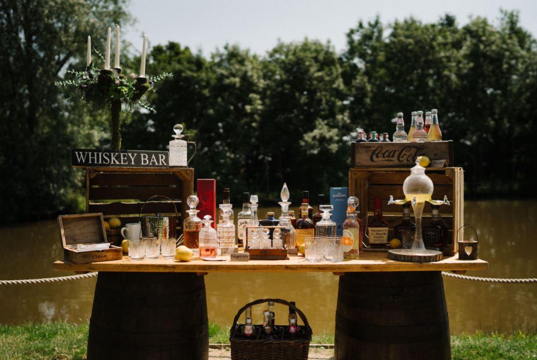 Whiskey Bar Hire | Chocolate Falls