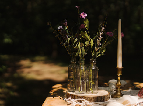Small Vintage Flower Hire   Chocolate Falls