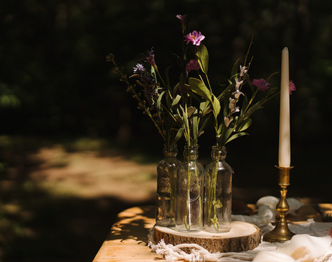 Vintage Table Styling   Chocolate Falls