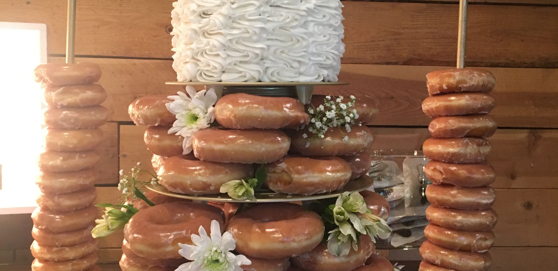 Donut Wedding Cake | Chocolate Falls