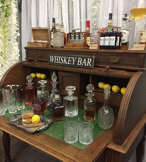 Antique Writing Desk Display | Chocolate Falls
