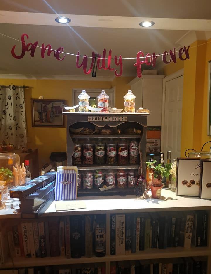 Harry Potter Sweet Display - Hen Party