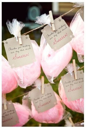 Candyfloss Wedding Favours   Chocolate Falls